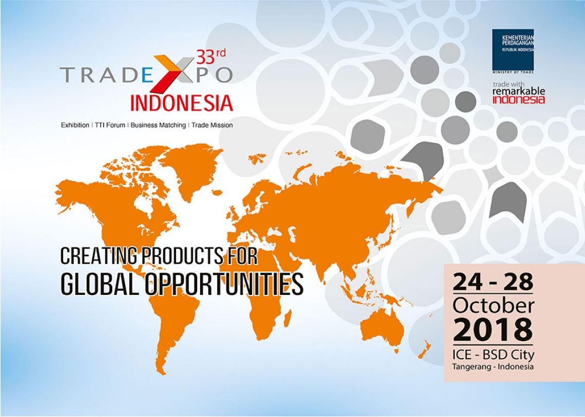 Banner events TRADE EXPO INDONESIA